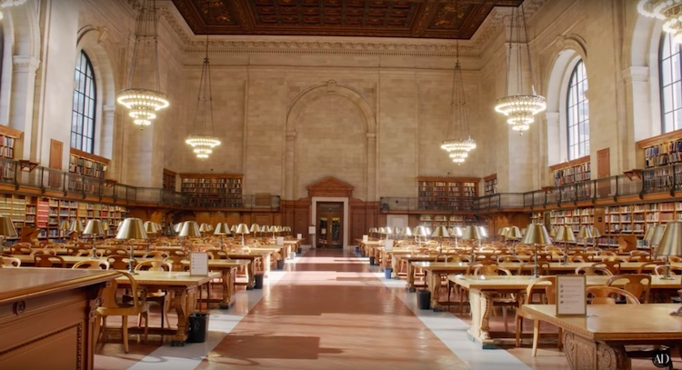 New York Public Library Video Tour by Architectural Digest