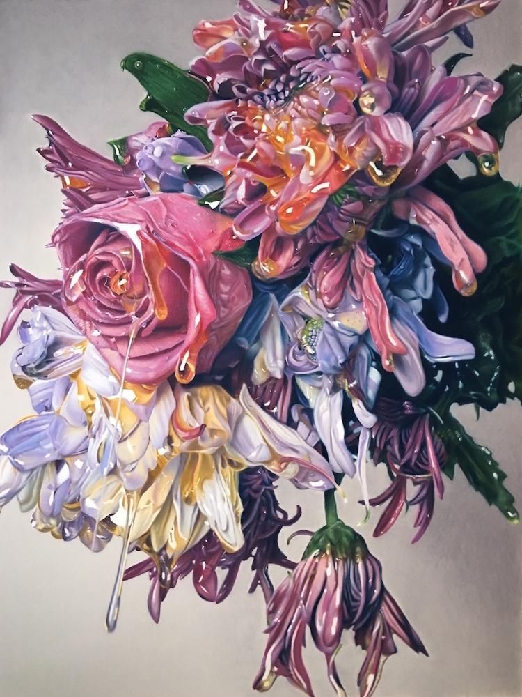 Oil Pastel Art by Brian Owens