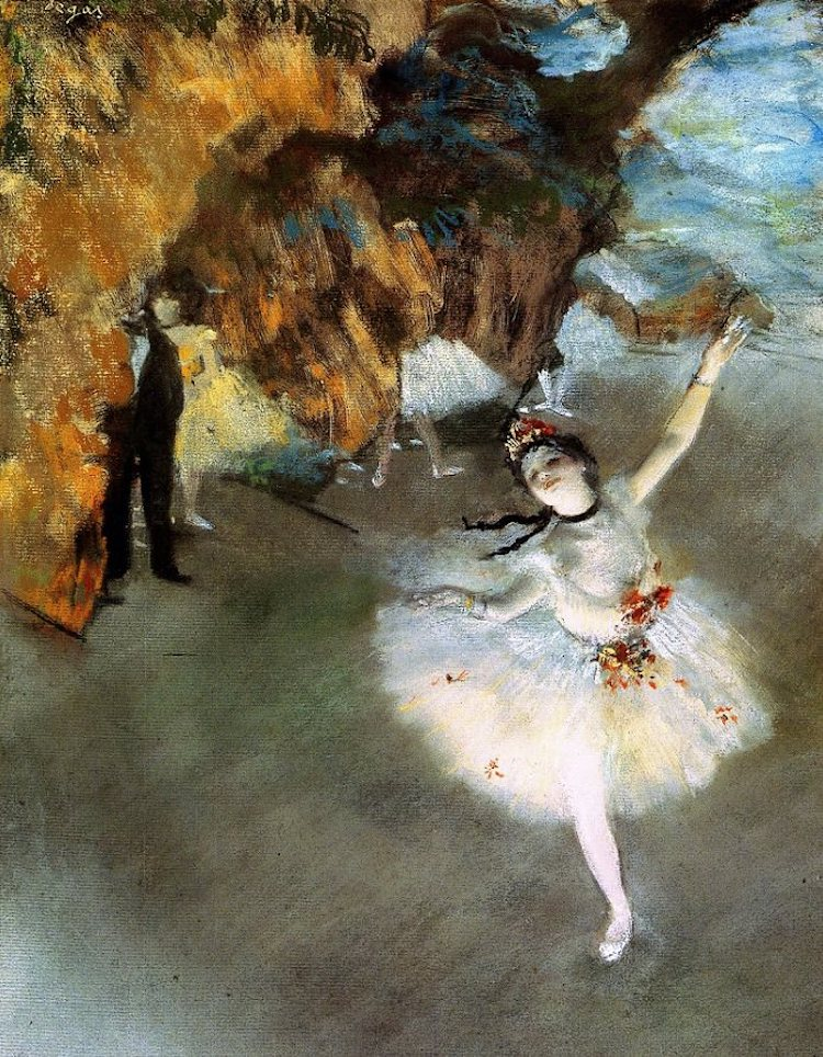 Pastel Art by Edgar Degas