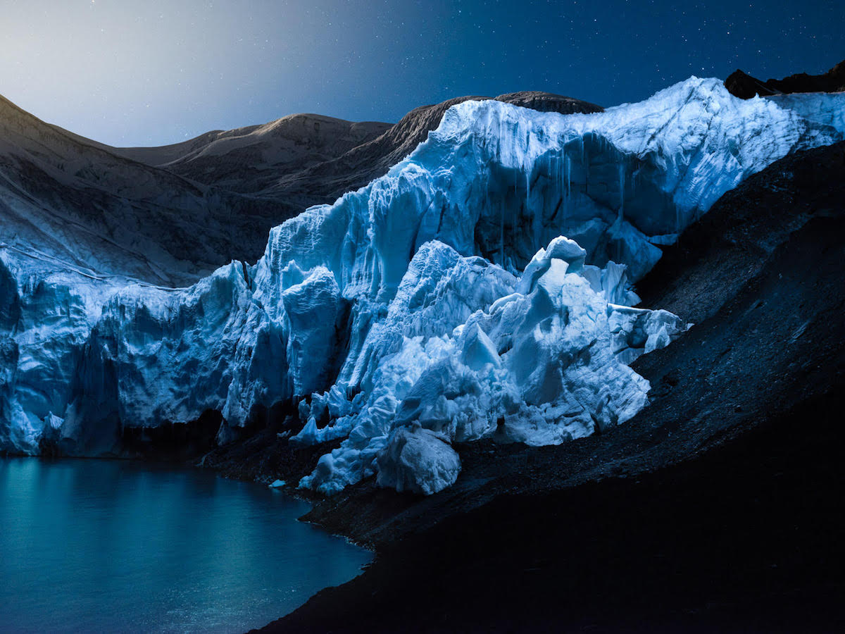 Glacier Photos by Reuben Wu