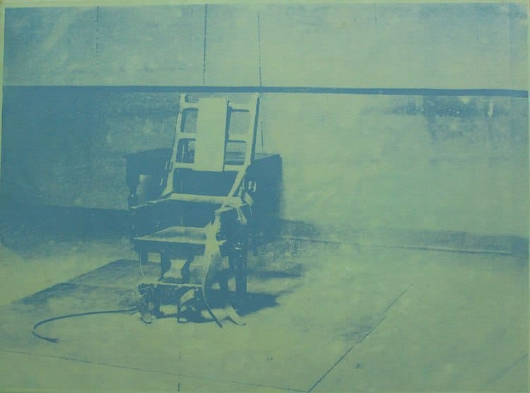 Andy Warhol Electric Chair