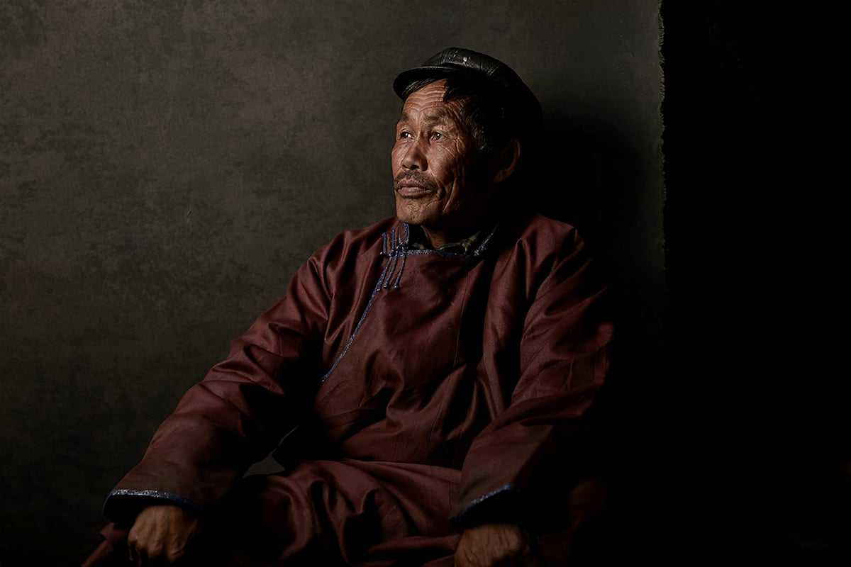 Portraits of Mongolian Nomads by Shed Mojahid