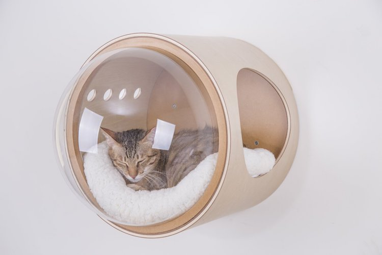 Spaceship Cat Bed Myzoo Studio