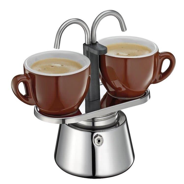 Dual Stovetop Espresso Maker