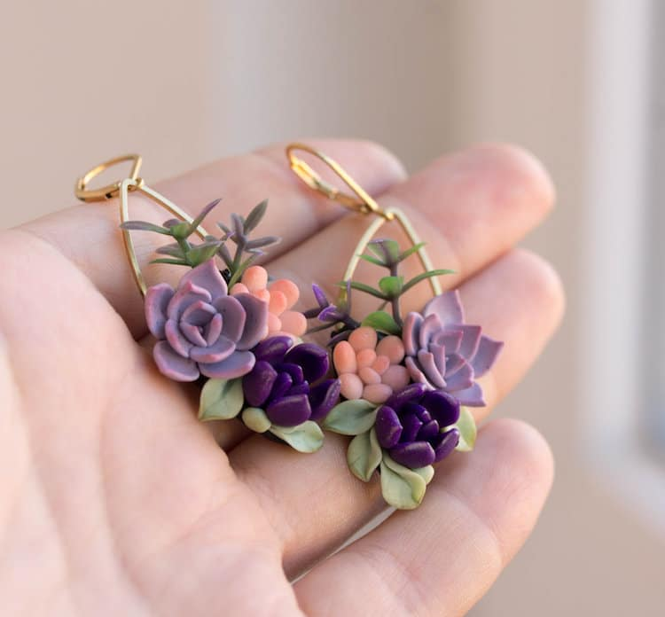 Succulents Succulent Gifts Succulent Jewelry