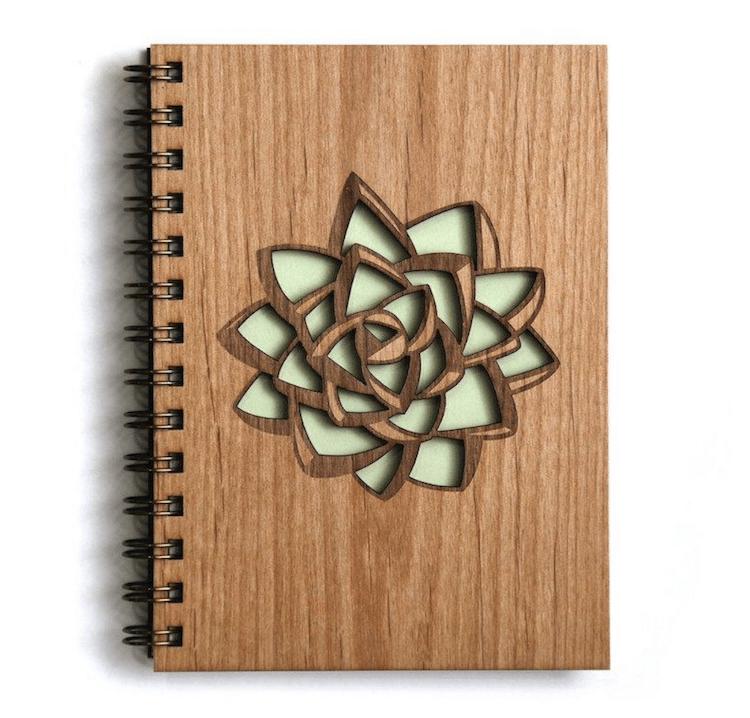 Succulents Succulent Gifts Succulent Notebook