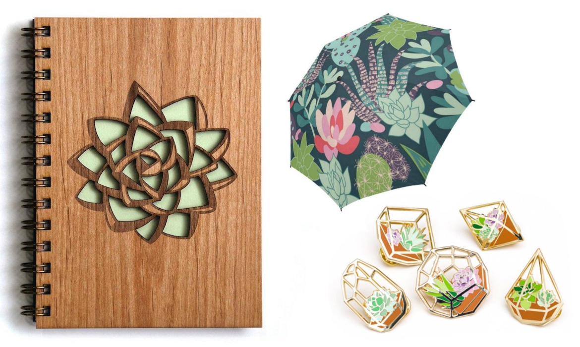 17 Stylish Succulent Gifts For People Who Love The Prickly Plant