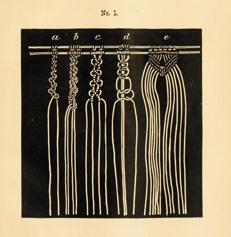 Vintage Macrame Manual