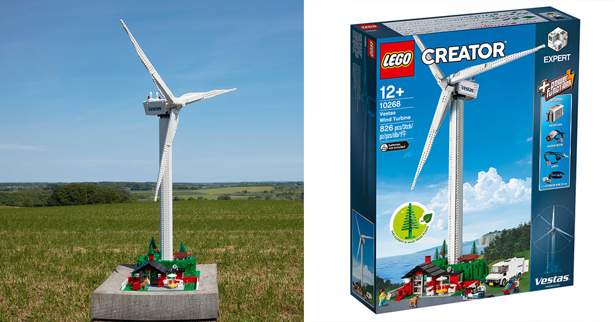 LEGO Release Functional Wind Turbine Kit to Promote
