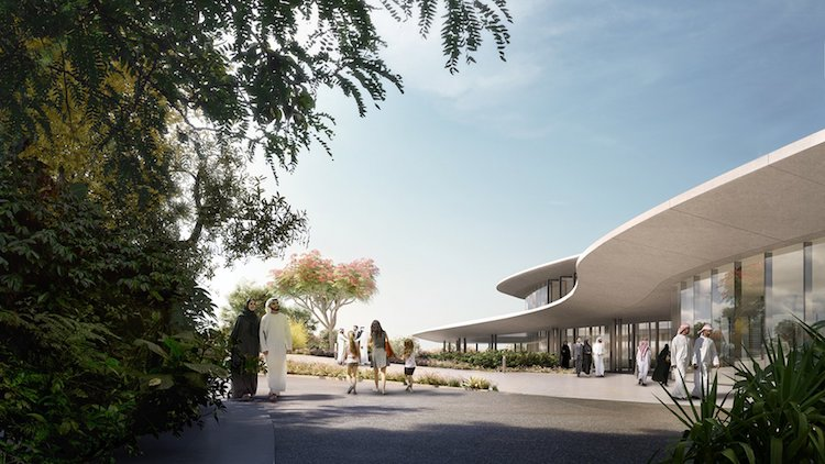 ZHA Architects - Aljada Central Hub