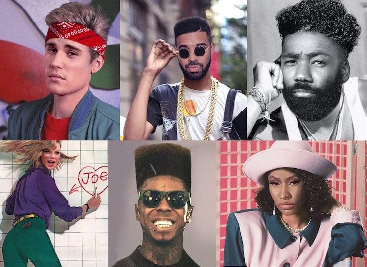 Celebridades Cambio de Look los Años 90 por Future Punk