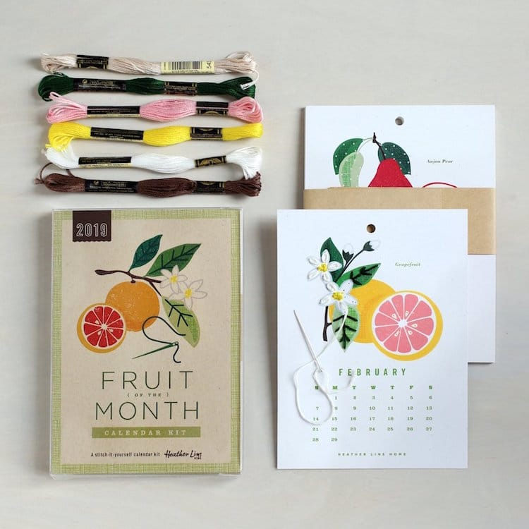 2019 Calendar Craft Kits Heather Lins Home