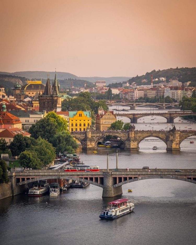 Prague by Air by Alan Brutenic
