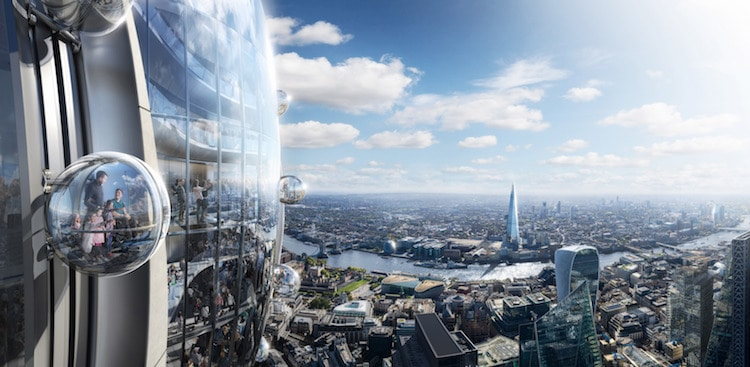 The Tulip - London - Foster + Partners