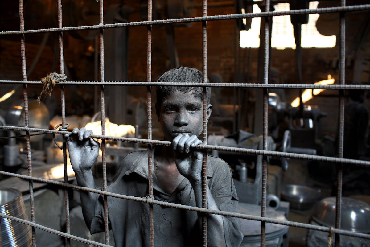 Child Laborer GMB Akash Photojournalist