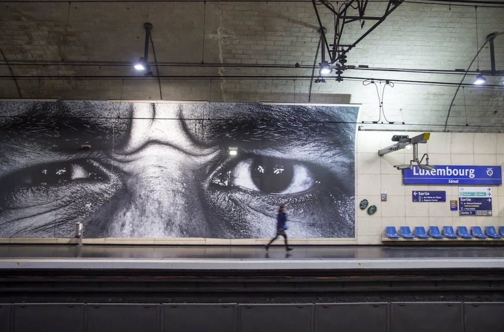 JR Street Art and Photography Exhibition with RATP in Paris