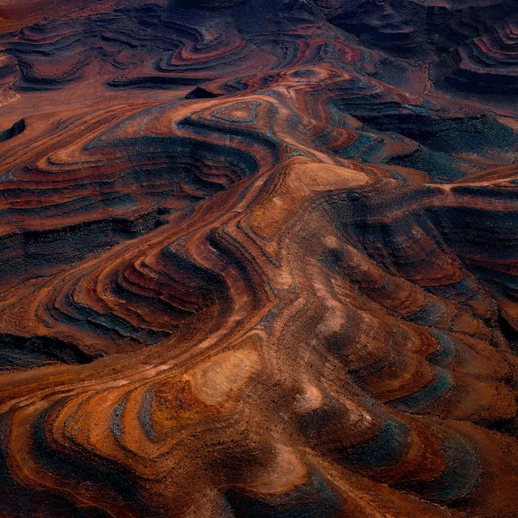 Fotos Aéreas del Paisaje de Namibia por Leah Kennedy