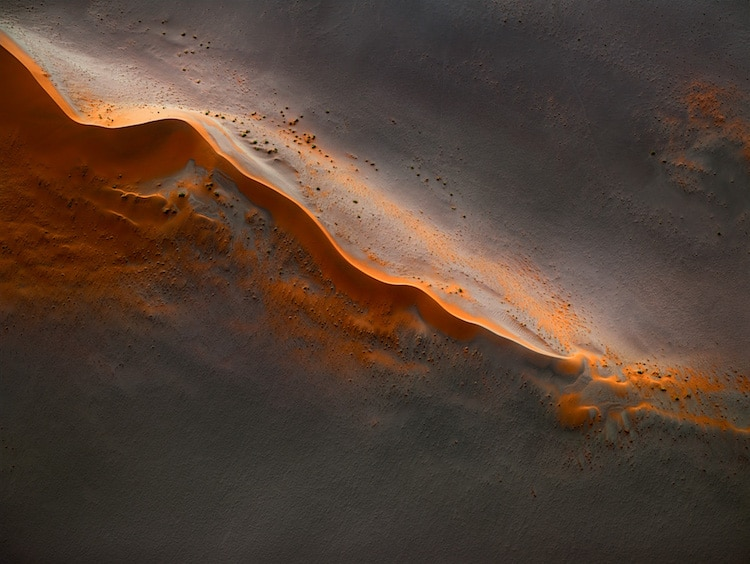 Aerial Photo of Namibia's Landscape by Leah Kennedy