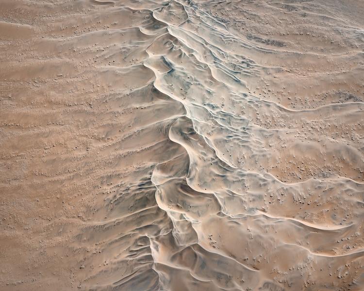 Fotos Aéreas Abstractas de Namibia por Leah Kennedy