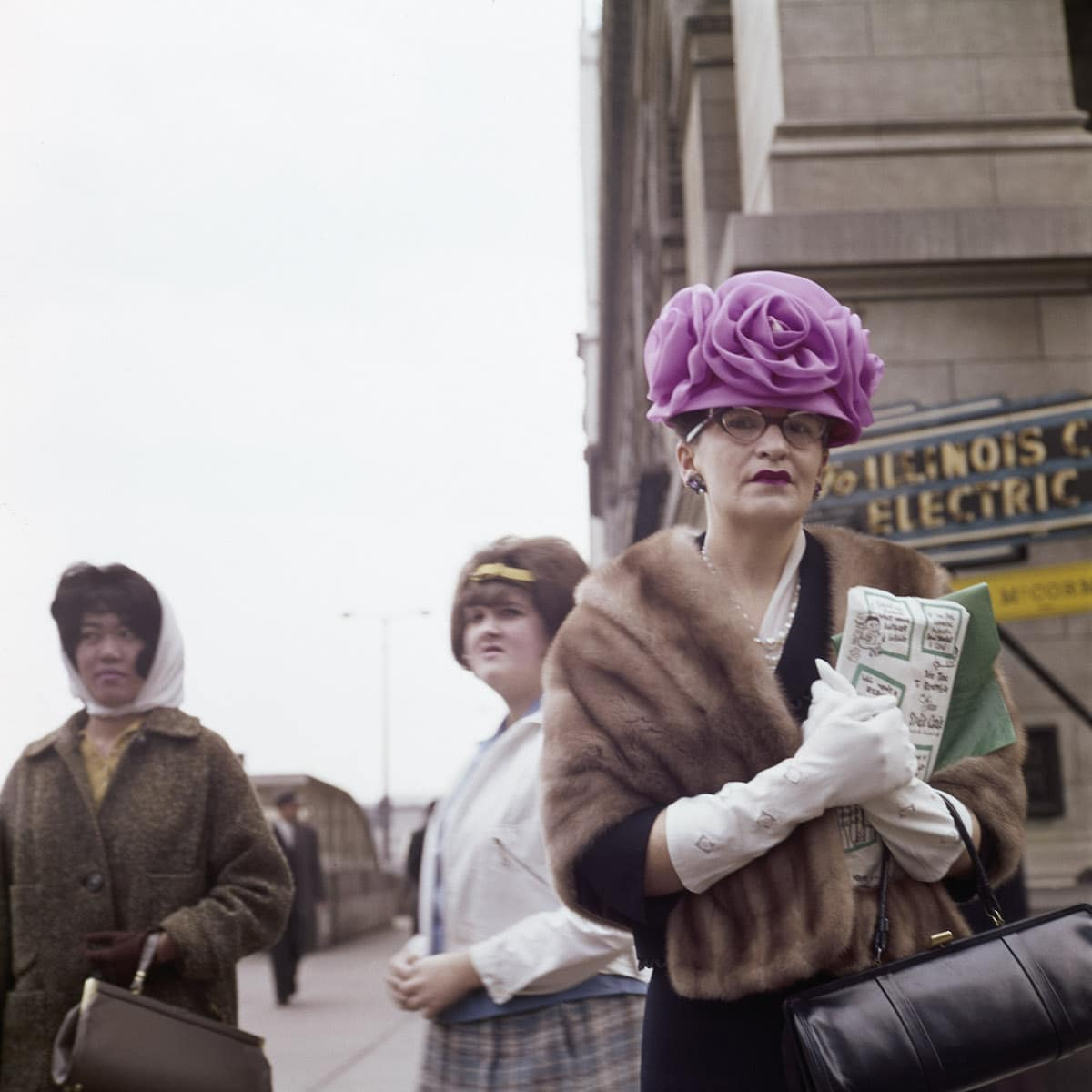 Vivian Maier Color Photography
