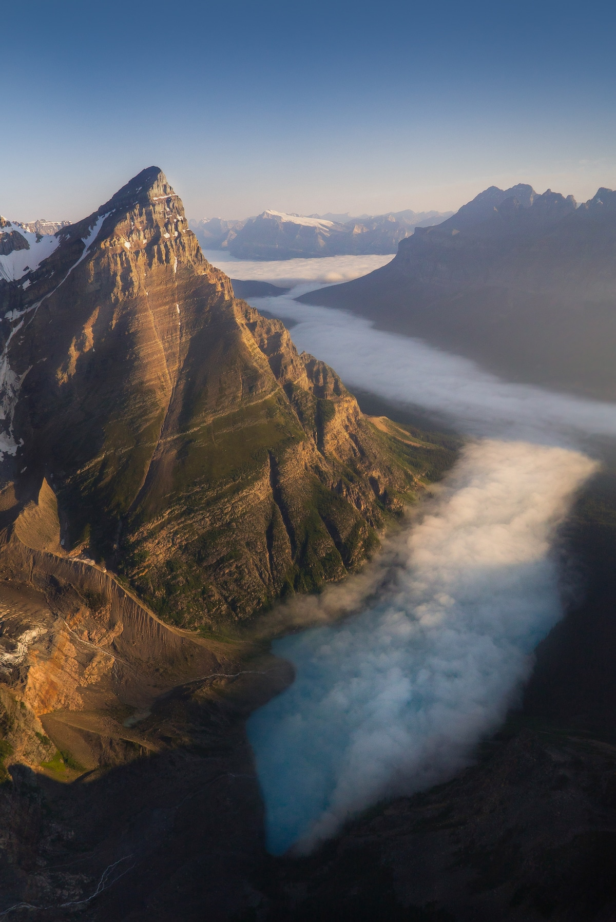 Mount Chapron in Banff National Park in Alberta, Canada by Andrew Studer