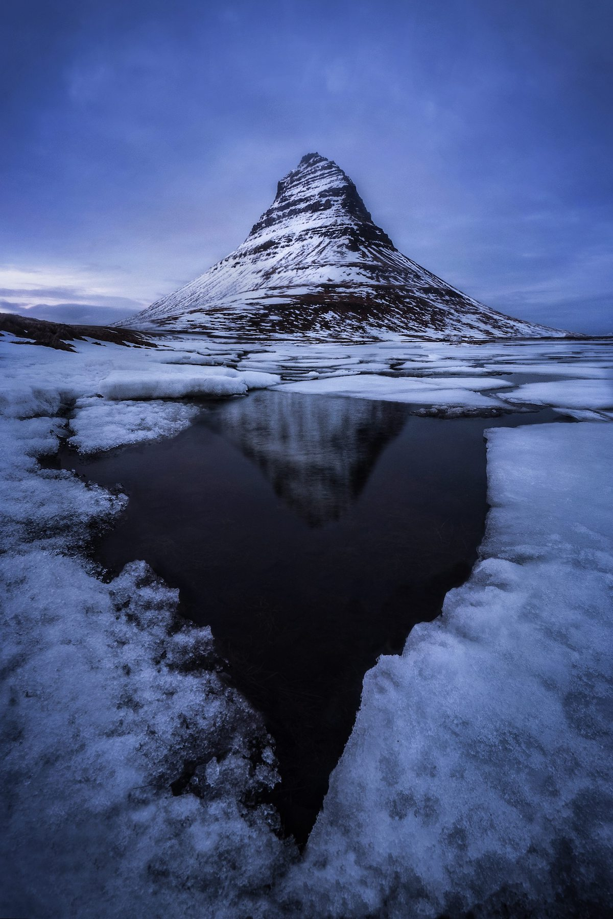 Kirkjufell Mountain, Iceland by Andrew Studer