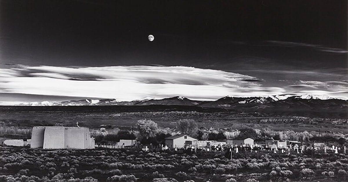 Resultado de imagen para ansel adams moonrise