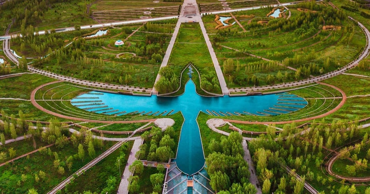 Astana S Presidential Park Reflects City S Role As Capital