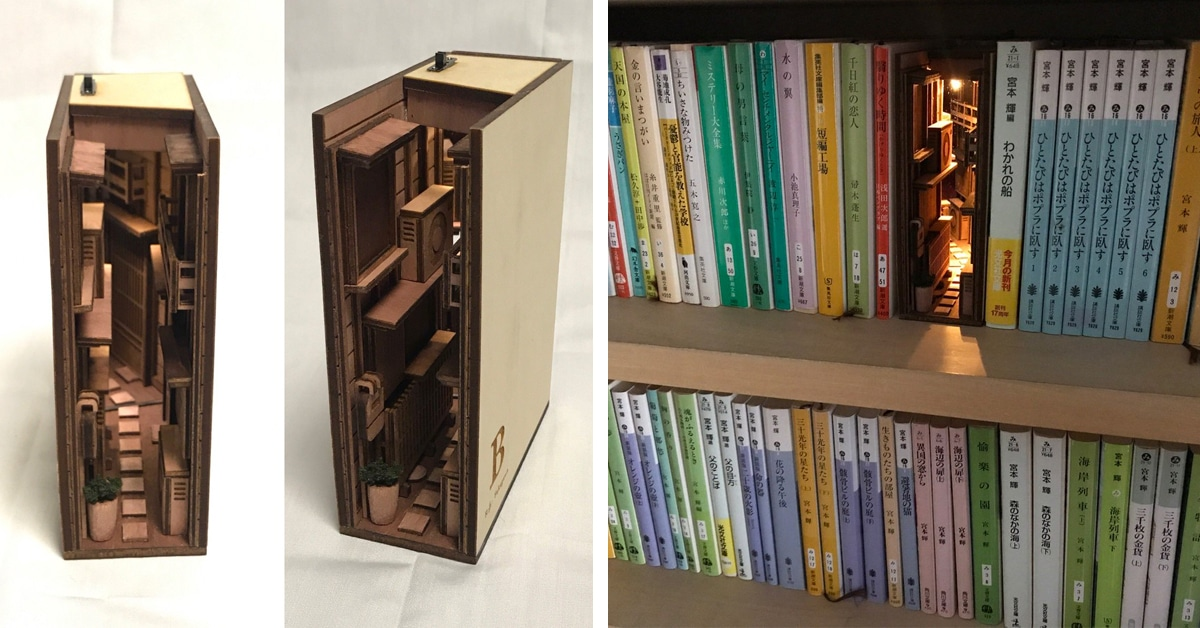 Clever Dioramas of Tokyo's Back Alleys Live on Your Bookshelf