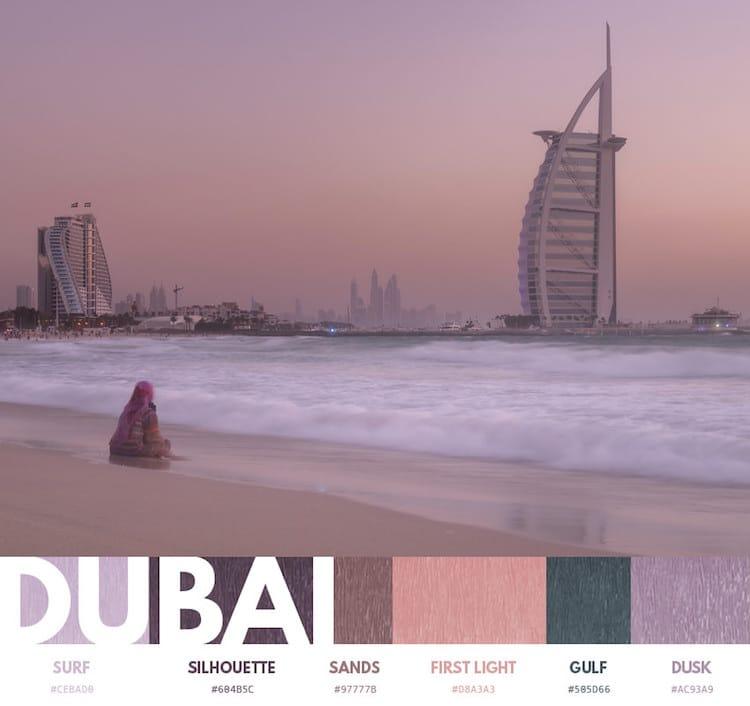Color Palette of a City