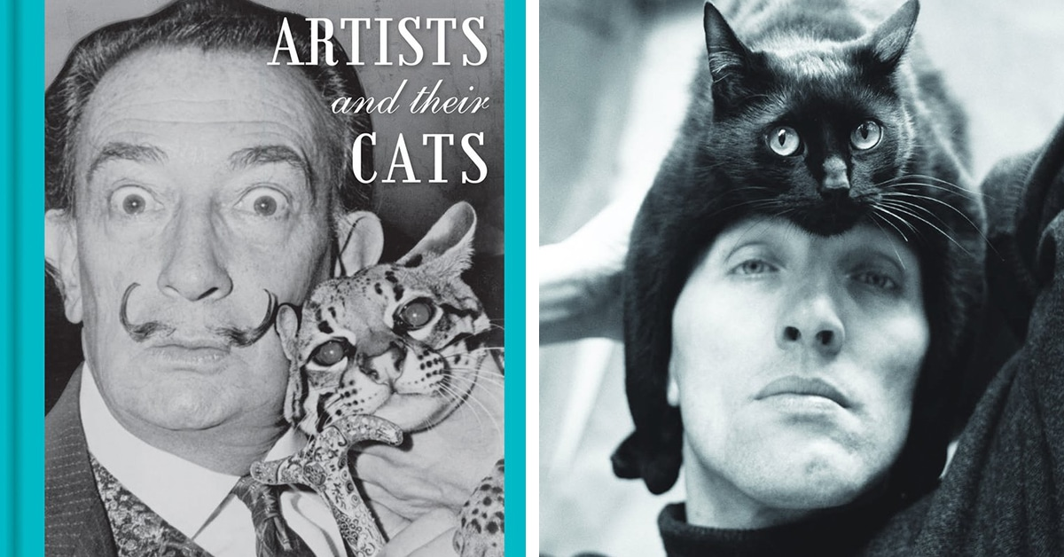 Intimate Portraits of 50 Famous Artists and Their Pet Cats