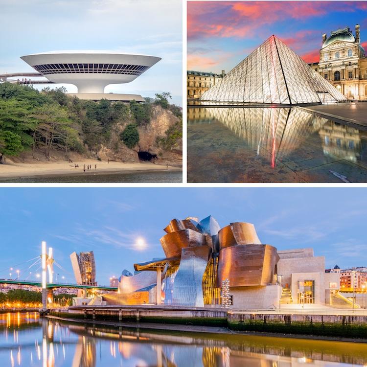 Museos Famosos Arquitectura de Museos