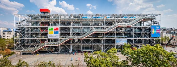 Museos Famosos Arquitectura de Museos Pompidou