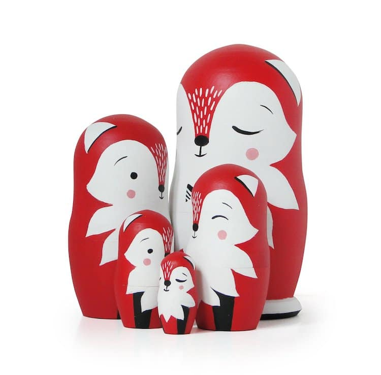 Folk Art Gifts Nesting Dolls