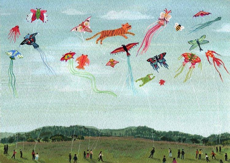 Folk Art Gifts Chinese Folk Art Print