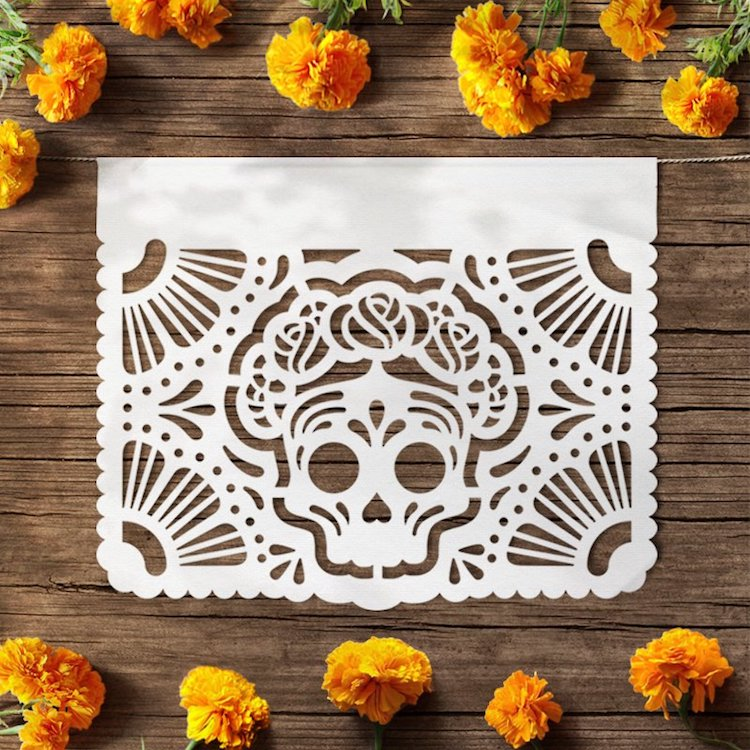 Folk Art Gifts Mexican Folk Art Gifts Day of the Dead Papel Picado