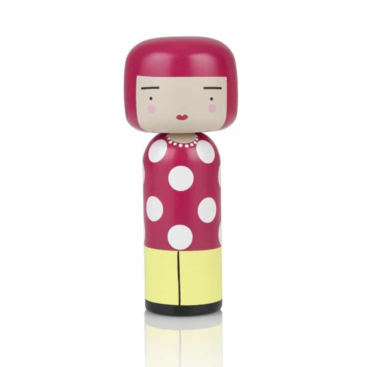 Folk Art Gifts Kokeshi Doll