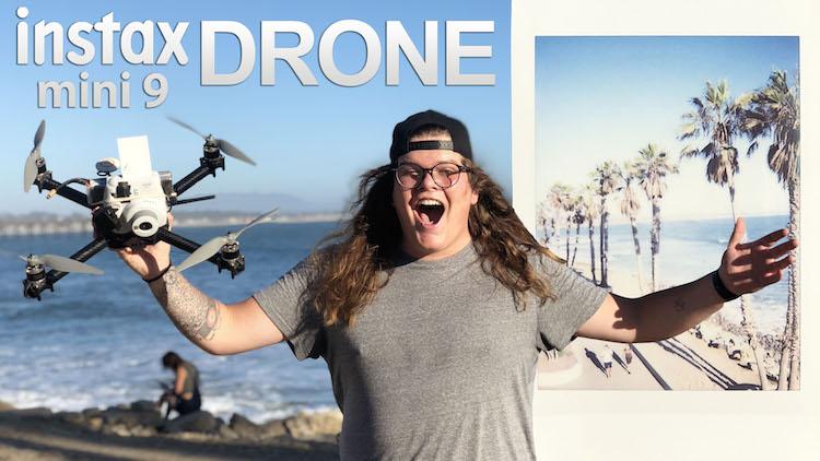 Fujifilm Instax Drone Camera by Trent Siggard