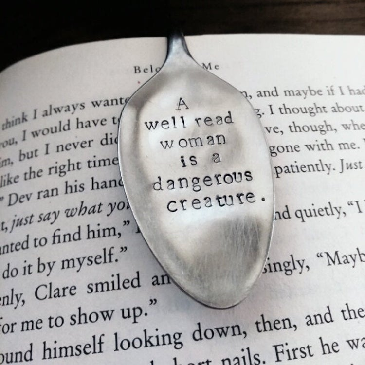 Engraved Spoon Bookmarks
