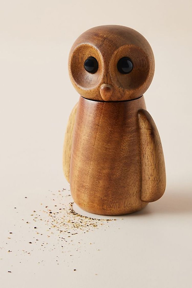 Owl Pepper Grinder