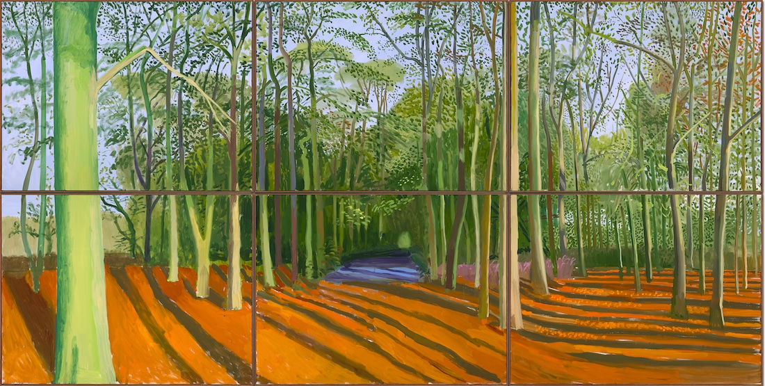 David Hockney Van Gogh Joy of Nature Van Gogh Museum Hockney Exhibit