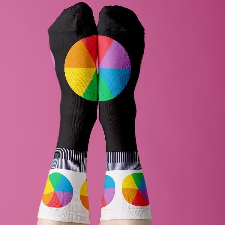 Color Wheel Socks