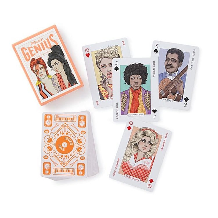 Musical Playing Cards