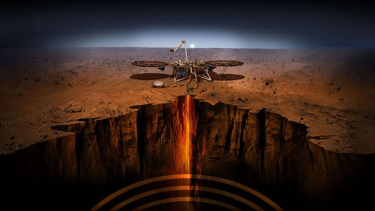 InSight Lander Touchdown on Mars