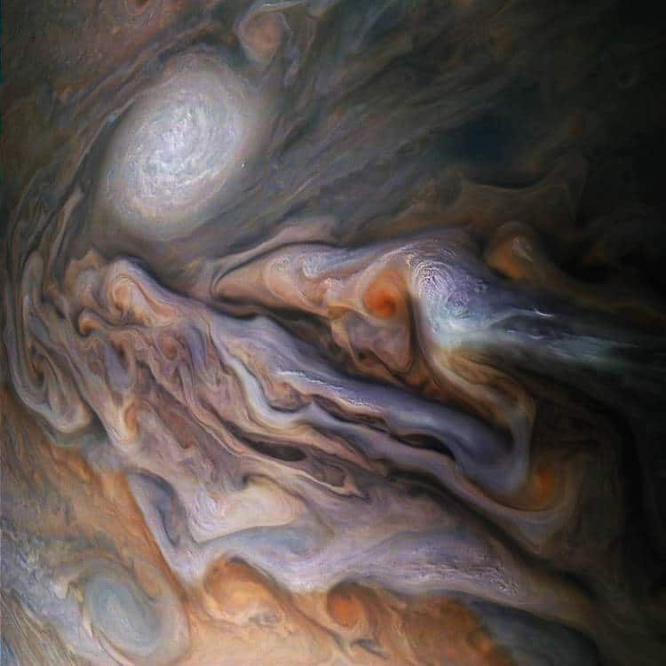 Jupiter from NASA Juno Probe