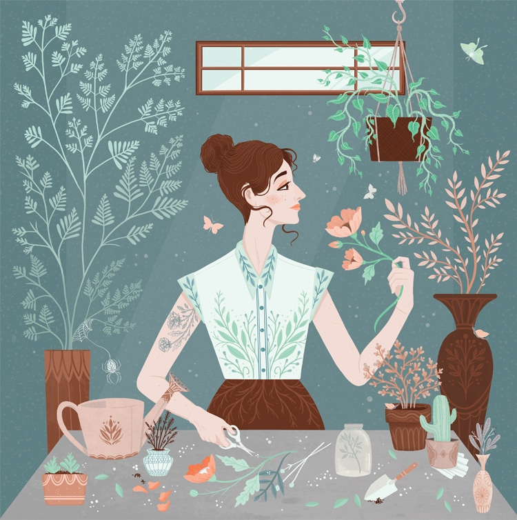 Digital Illustration Art by Lisa Perrin