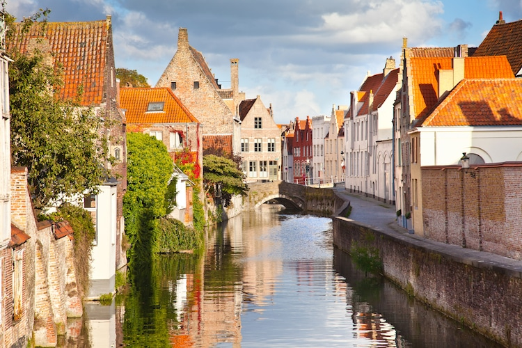 Medieval Europe Medieval City Bruges Canals