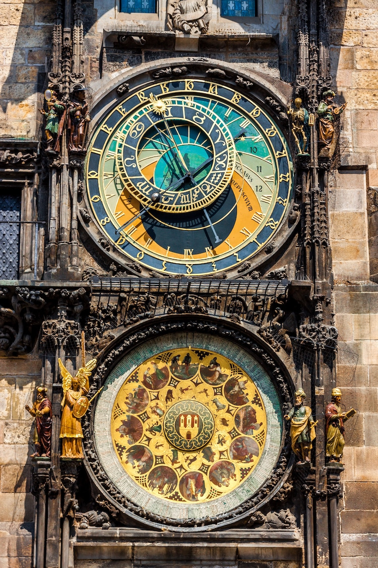 Medieval Europe Medieval Clock Prague Orloj