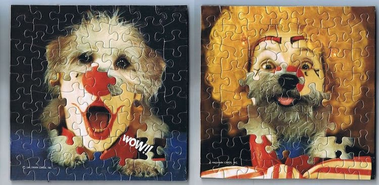 Artist Creates Surreal Montage Puzzle Art by Mixing up the Jigsaw Pieces