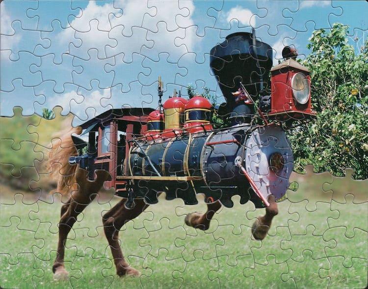 Art Puzzle par Tim Klein